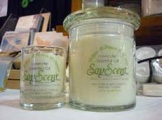 I bought couple of these candles at a home show and they are the absolute best!