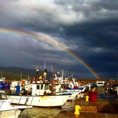 Arcobaleno all'isola d'Elba