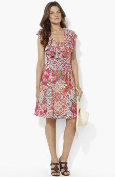 Ruffle Petite Summer Dress