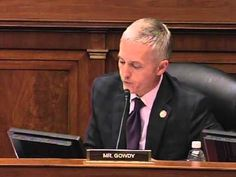 Gowdy Questions ARB Co-Chair: You never interviewed Sec. of State about her responsibilities