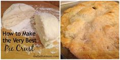 Are you like me and think that what really makes the pie is the crust?? Well this is the best pie crust I have ever had and it is so easy!!