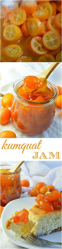 This Vanilla Kumquat Jam Recipe is great as a spread, dessert topping or condiment. This easy compote style jelly will add bright, citrus flavor to any dish! #homemade #jam wonkywonderful.com