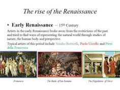 History of Visual Arts: The Rise of the Renaissance - YouTube