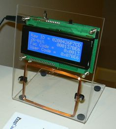 RFID Reader/Cloner... Oohs would to make this since I'm on a project that works on rfid technology ^.^
