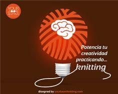 Activa tu hemisferio derecho y potencia tu creatividad. ¿Cómo? Practica #knitting http://www.yourloomknitting.com/es/blog/ylk/32-como-estimular-creatividad-hemisferio-derecho-knitting-ylk.html