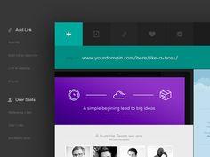 Free PSD - Ui Kit Web App Header