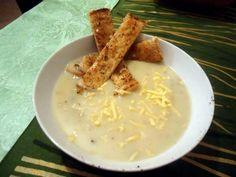 "Mushroom Soup! ""delightful""  @allthecooks #recipe #soup #mushroom #healthy #hot"