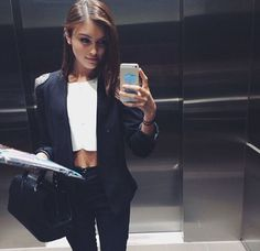 selfies con outfit