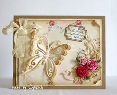Cards made by Wybrich: Butterfly!