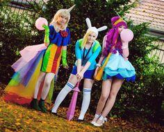 Adventure Time Ladies by MayoInvasion.deviantart.com on @deviantART #COSPLAY
