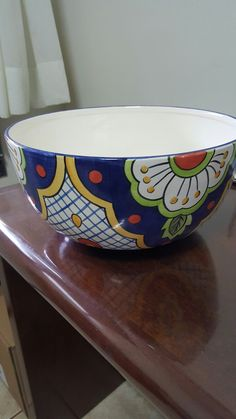 Ceramic Tableware, Ceramic Clay, Ceramic Painting, Pottery Painting Designs, Bowl Designs, Clay Art, Home Art, Hand Painted, Ceramic Bowls