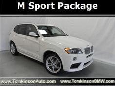 2014 Bmw X3 Xdrive35i XDRIVE35I SUV 4 Doors Alpine White for sale in Fort wayne, IN http://www.usedcarsgroup.com/fortwayne-in/2014-bmw-x3-5uxwx7c56el983860.html