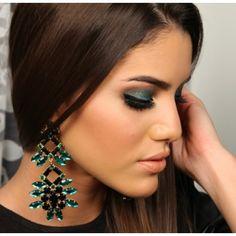 Camila Coelho: Ludora Glória Maxi Earring. love these for fall!