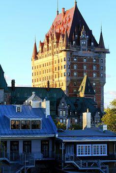 Chateau Frontenac, Ville de Québec, Province (ou État selon l'allégeance politique) du Québec