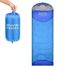 CampFENSE Sleeping Bag Lightweight Portable Compact Backpacking Outdoor Hiking Camping Equipment Tools Gear for Kids Youth Adult Men Women with Compression Storage Bag (Light Blue). For product & price info go to:  https://all4hiking.com/products/campfense-sleeping-bag-lightweight-portable-compact-backpacking-outdoor-hiking-camping-equipment-tools-gear-for-kids-youth-adult-men-women-with-compression-storage-bag-light-blue/
