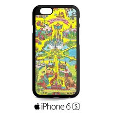 fantasyland map iPhone 6S  Case