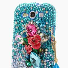 """Style 493 This Bling case can be handcrafted for Samsung Galaxy S3, S4, Note 2, Note 3. The current price is $79.95 (Enter discount code: """"facebook102"""" for an additional 10% off during checkout)"""