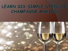Champagne is considered as the highest quality of the juice. Interested to know more about the process of champagne making? To know more watch this presentation. #sabrage #saberingchampagne #champagnesabre #champagnesword