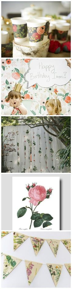 Botanical Event Décor - Curated by Soul & Oak