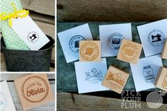 Who Made that? Custom 'Made By:' Stamps Personalized, just for you!