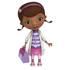 This giant Doc McStuffins wall sticker will delight children who are all about fixing toys and staying healthy. Each of the included elements are pre-cut, removable, and repositionable.