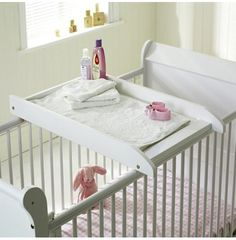 Cot top changer - such a smart idea! Could save so much space too!