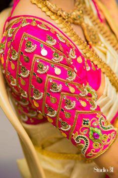 35 Stunning Latest Maggam Work Blouse Designs 2020 Stunning Latest Maggam Work Blouse designs 2020 for bridal kanjeevaram silk sarees, wedding blouses, pattu saree blouse designs 2020 Cutwork Blouse Designs, Wedding Saree Blouse Designs, Pattu Saree Blouse Designs, Fancy Blouse Designs, Blouse Neck Designs, Wedding Blouses, Salwar Designs, Wedding Sarees, Blouse Patterns