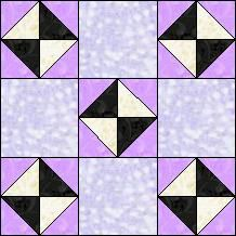Block of Day for November 20, 2014 - Sawtooth Crosses