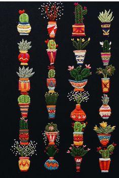 Cactus Needle Art