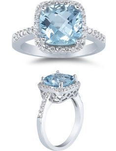 What happens when you combine the beauty of a richly hued gemstone with the timeless sparkle of a diamond in one dazzling ring? You get a piece that provides the ultimate in both sparkle and color, and Applesofgold.com offers a rainbow of diamond and gemstone ring options for every taste.