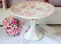 Cupcake/ Cake Plate Pedestal