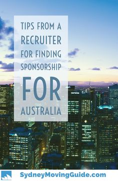 TOP 3 TIPS FOR FINDING SPONSORSHIP IN AUSTRALIA FROM SPONSORED JOBS IN AUSTRALIA OWNER NADINE MEYERS  Im going to go over each tip in more detail, but the truth is, Nadine is the #1 go-to person when it comes to finding sponsored jobs in Australia hence the name of her business.