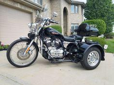 eBay: 2010 Harley-Davidson Touring 2010 Harley Davidson Sportster 1200 Trike #harleydavidson