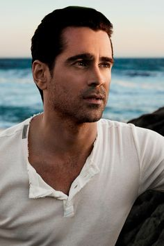 Colin Farrell, former ponytail aficionado, is the confirmed face of Intenso, a new Dolce & Gabanna men's fragrance. Rumors first swirled in the summer when a half-naked Farrell appeared to be filming a commercial with the Italian brand. Colin Farrell, Hot Actors, Actors & Actresses, Handsome Actors, Handsome Guys, Hollywood Actresses, Dolce And Gabbana Fragrance, Star Wars, Matthew Mcconaughey