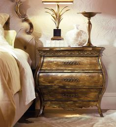 Bring romantic French style to your bedroom with this Sanctuary Collection piece.