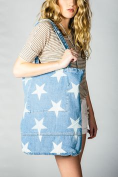 One Teaspoon + Star Denim Market Bag
