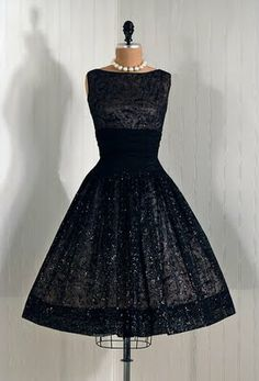 Bring back the cocktail party, the kind that requires a dress like this.