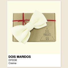 #GravataBorboleta #Casamento #Pajens #Bowtie #DoisMaridos #Creme #Cream