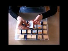 Homemade Ink Blending Tool (Part 2): Storage & Organization