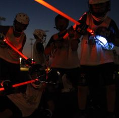 Play Lacrosse at Night! Replaceable Batteries. Endless Fun. #ExpectDifferent