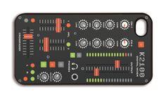 3-D Motion iPhone 4 Case Audio Mixer Style - 3-D Motion iPhone 4 Case Audio Mixer Style