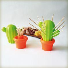 Palillero Cactus de Omnipresentes distinguido con el Sello de Buen Diseño argentino 2014.