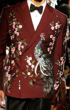 Dolce & Gabbana Alta Moda Fall 2015.
