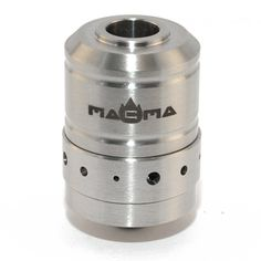 The Magma rebuildable dripping atomizer (RDA) by Tobeco is a beautifully crafted replica. The deep well holds tons of juice to feed your wick and the slotted posts make building easy!
