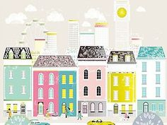 Городские зарисовки Лоры Эмисс | Ярмарка Мастеров - ручная работа, handmade