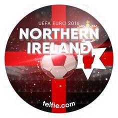 UEFA Euro 2016!  Northern Ireland UEFA Euro 2016 sticker unlocked via #Telfie #VoiceOfTV