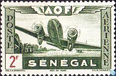 Senegal - Airplane 1942
