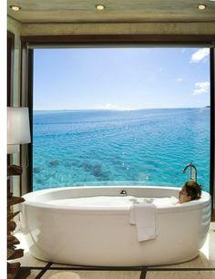 The Hilton Bora Bora Nui Resort and Spa - 1 of Bora Bora's 9 outstandingly cool-looking resorts