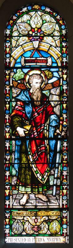 SS. Peter and Paul's Church West Aisle Window 14 Saint Paul, Clonmel, County Tipperary, Ireland.