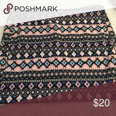 Mini skirt Multi colored design mini skirt H&M Skirts Mini